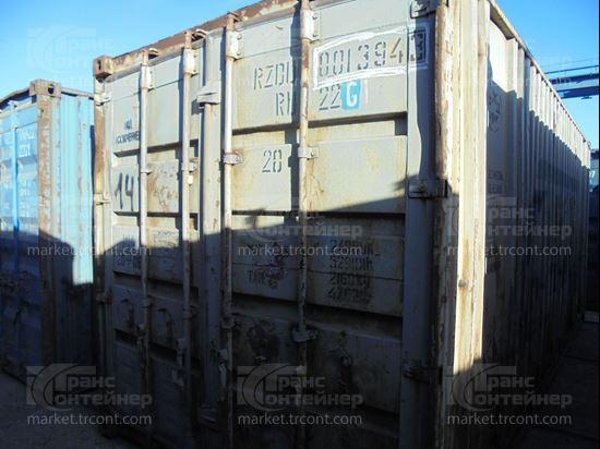 Изображение 20-футовый б/у контейнер №0013943