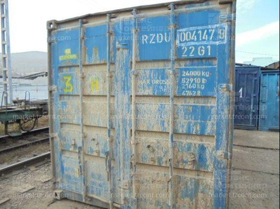 Изображение 20-футовый б/у контейнер №0041478