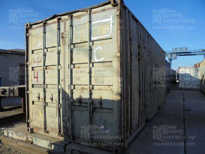 Изображение 20-футовый б/у контейнер №0113428