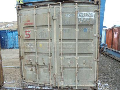 Изображение 20-футовый б/у контейнер №0165709