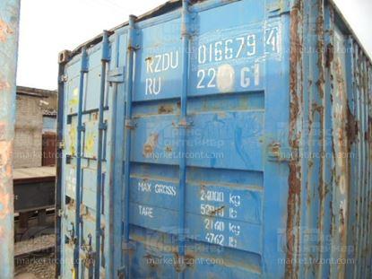 Изображение 20-футовый б/у контейнер №0166794