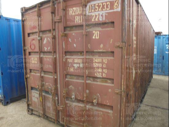 Изображение 20-футовый б/у контейнер №0252336