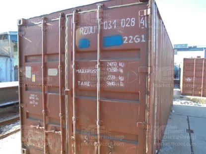 Изображение 20-футовый б/у контейнер №0310284