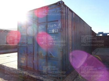 Изображение 20-футовый б/у контейнер №0366149