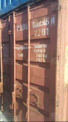 Изображение 20-футовый б/у контейнер №0000458