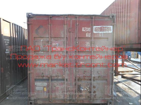 Изображение 20-футовый б/у контейнер №0067050