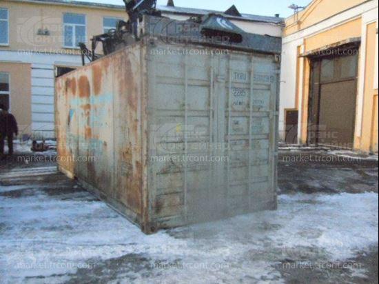 Изображение 20-футовый б/у термос-контейнер №9200513