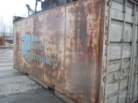 Изображение 20-футовый б/у термос-контейнер №9204355