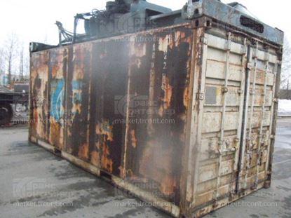 Изображение 20-футовый б/у термос-контейнер №9214796