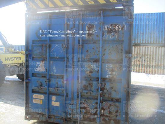 Изображение 20-футовый б/у контейнер №0073691