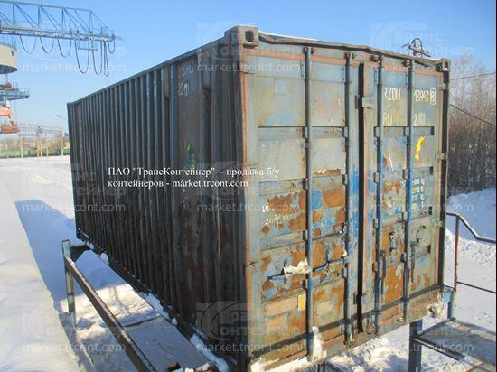 Изображение 20-футовый б/у контейнер №0139438