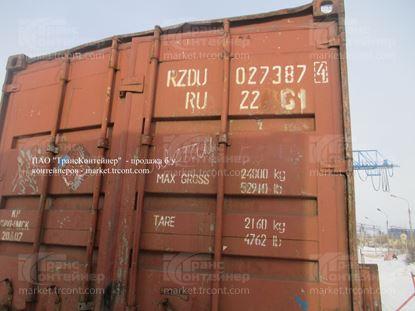 Изображение 20-футовый б/у контейнер №0273874