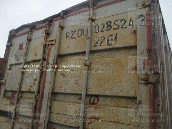 Изображение 20-футовый б/у контейнер №0285242