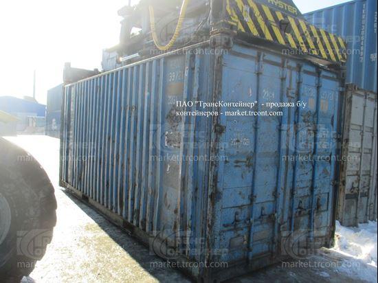 Изображение 20-футовый б/у контейнер №0397216