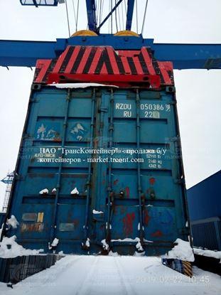 Изображение 20-футовый б/у контейнер №0503869