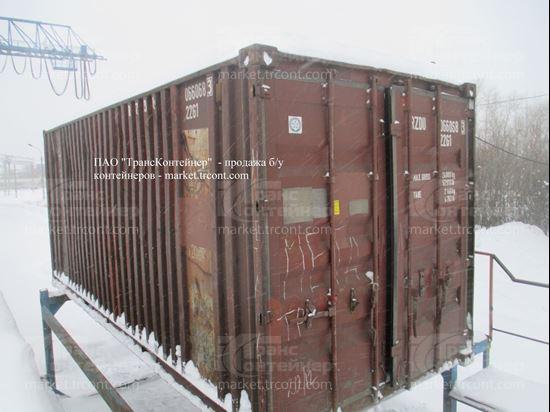 Изображение 20-футовый б/у контейнер №0660683