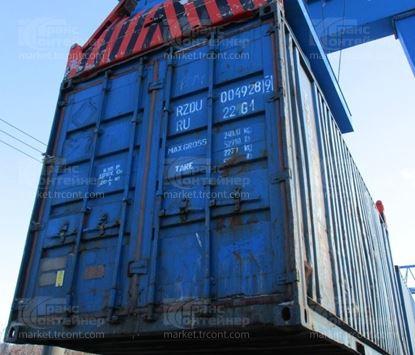 Изображение 20-футовый б/у контейнер №0049289