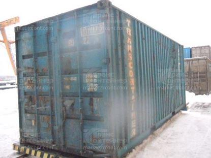 Изображение 20-футовый б/у контейнер №0010179
