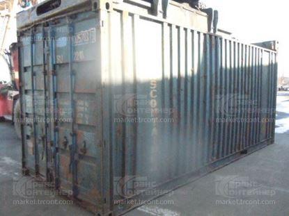 Изображение 20-футовый б/у контейнер №0057833