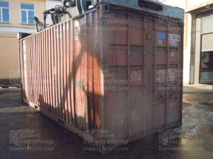 Изображение 20-футовый б/у контейнер №0081207