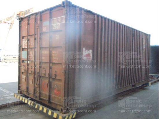 Изображение 20-футовый б/у контейнер №0101284