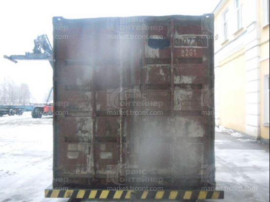 Изображение 20-футовый б/у контейнер №0107739
