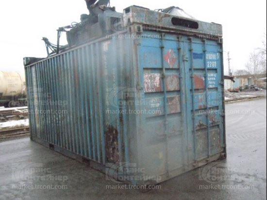 Изображение 20-футовый б/у контейнер №0107805