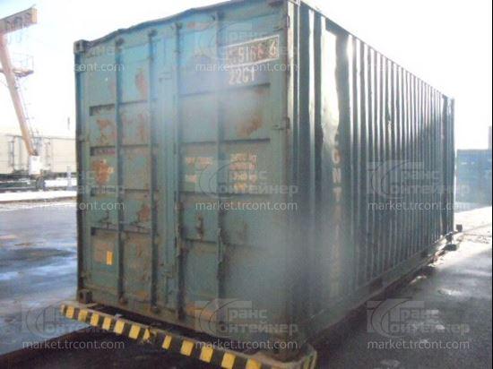 Изображение 20-футовый б/у контейнер №0151686