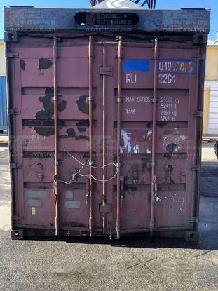 Изображение 20-футовый б/у контейнер №0190785
