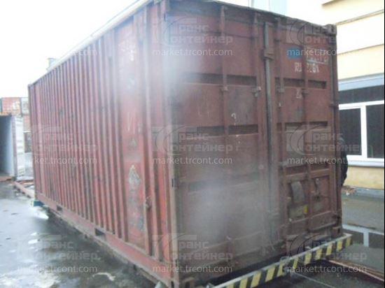 Изображение 20-футовый б/у контейнер №0192812