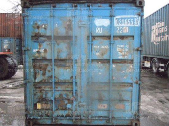 Изображение 20-футовый б/у контейнер №0208550