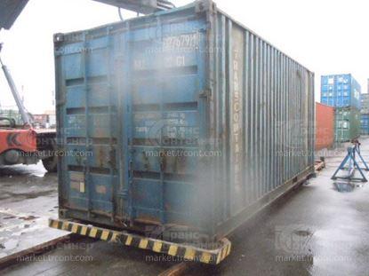 Изображение 20-футовый б/у контейнер №0276791