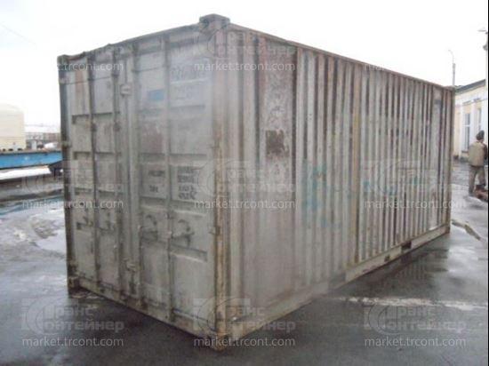 Изображение 20-футовый б/у контейнер №0282177