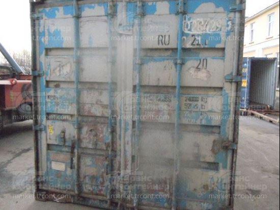 Изображение 20-футовый б/у контейнер №0284293