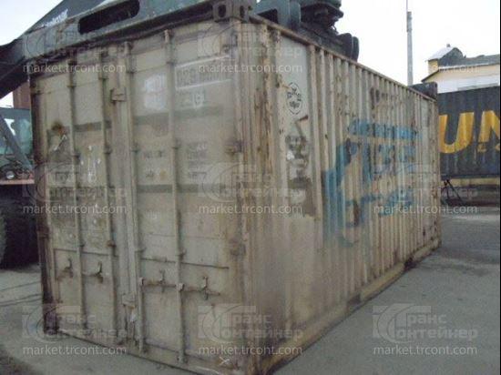 Изображение 20-футовый б/у контейнер №0296801