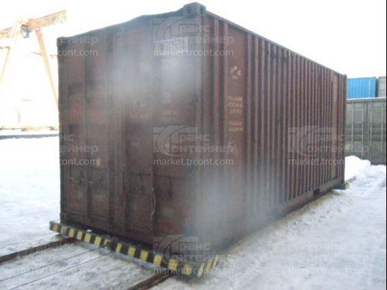 Изображение 20-футовый б/у контейнер №0301493