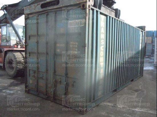 Изображение 20-футовый б/у контейнер №0301739