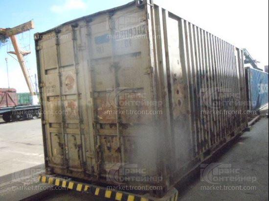 Изображение 20-футовый б/у контейнер №0309302