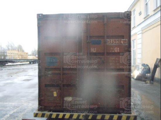 Изображение 20-футовый б/у контейнер №0356644