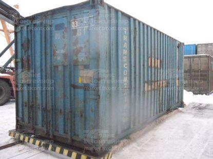 Изображение 20-футовый б/у контейнер №0360937