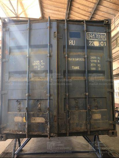 Изображение 20-футовый б/у контейнер №0417098