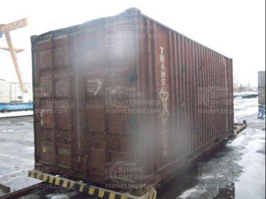 Изображение 20-футовый б/у контейнер №0420717