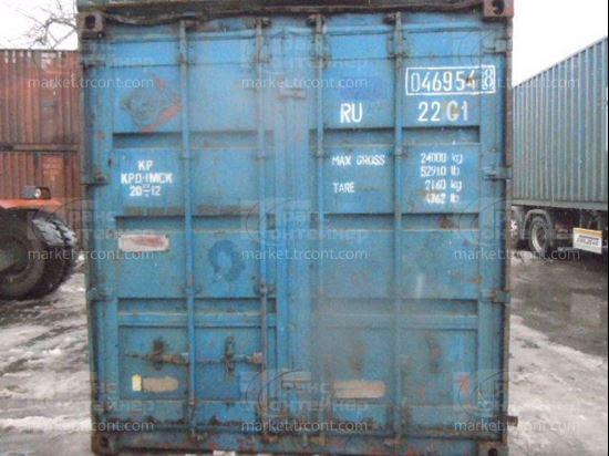 Изображение 20-футовый б/у контейнер №0469548