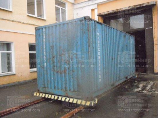 Изображение 20-футовый б/у контейнер №0475659