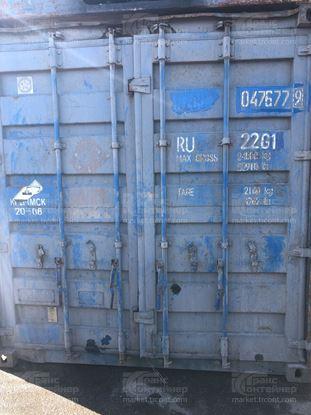 Изображение 20-футовый б/у контейнер №0476779