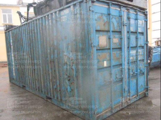 Изображение 20-футовый б/у контейнер №0671081