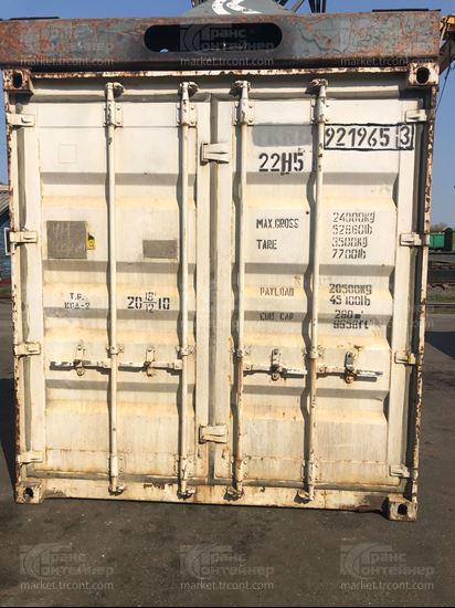 Изображение 20-футовый б/у термос-контейнер №9219653