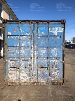 Изображение 20-футовый б/у контейнер №0355611