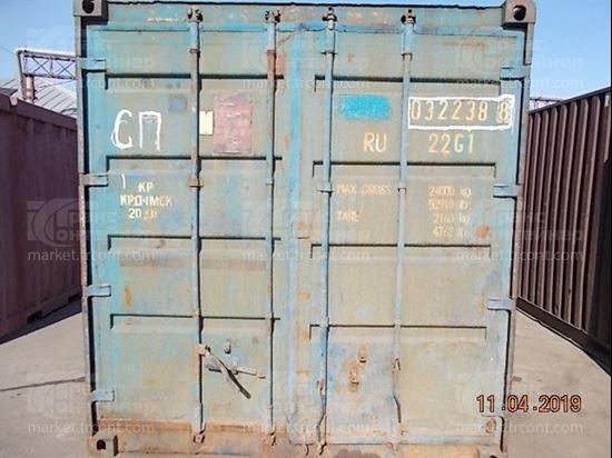 Изображение 20-футовый б/у контейнер №0322388