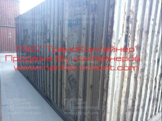 Изображение 20-футовый б/у контейнер №0281165